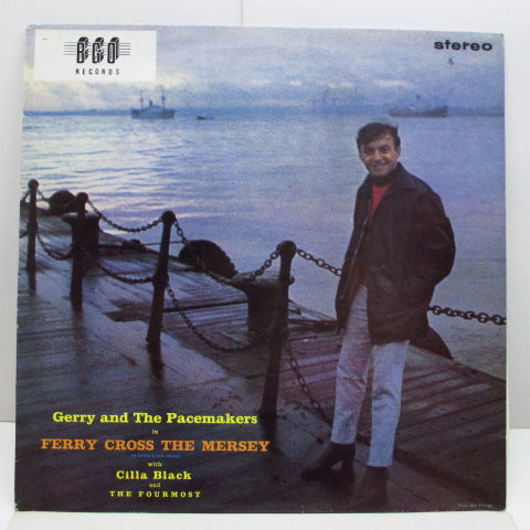 GERRY AND THE PACEMAKERS - Ferry Cross The Mersey (UK 80's Re Stereo LP)
