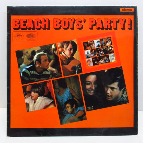 BEACH BOYS - Beach Boys' Party ! (UK Orig.STEREO/CFS)