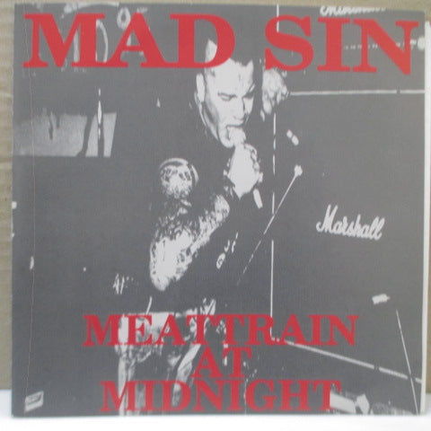 "MAD SIN - Meattrain At Midnight (Japan Ltd.Red Vinyl 7"")"