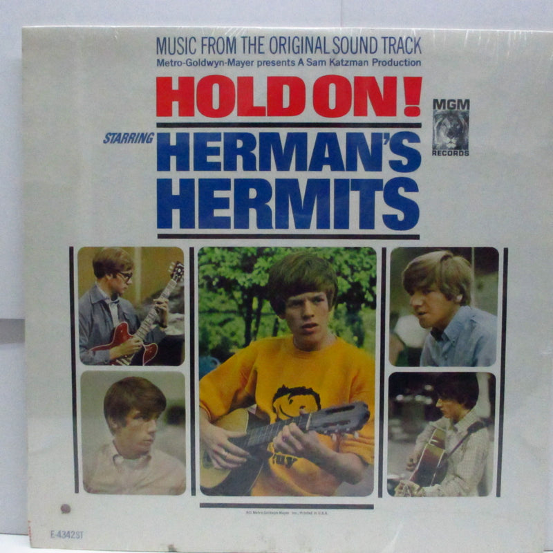 HERMAN'S HERMITS - Hold On! (US Orig.Stereo LP)