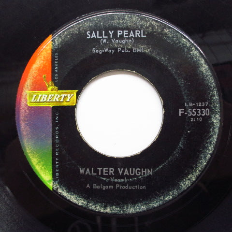 WALTER VAUGHN - Down On My Knees (Liberty)