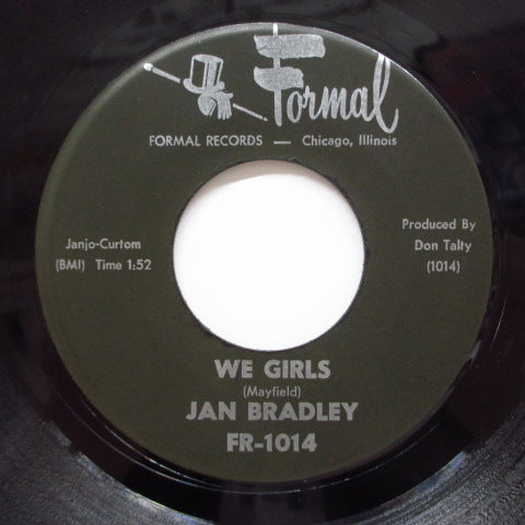 JAN BRADLEY - We Girls / Curfew Blues