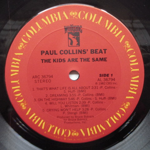 BEAT, THE (Paul Collins')  - The Kids Are The Same (US Orig.LP)