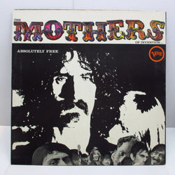 FRANK ZAPPA (MOTHERS OF INVENTION) - Absolutely Free (UK '72 Reissue Stereo LP)