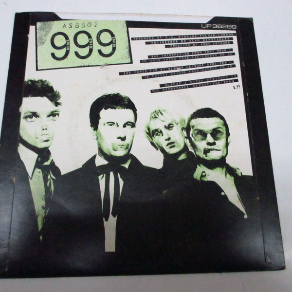 "999 - Nasty! Nasty! (UK Orig.Black Vinyl 7"")"