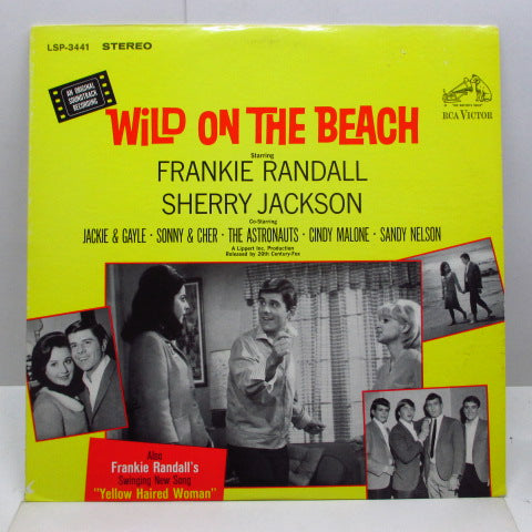 O.S.T. - Wild On The Beach (US Orig.Stereo LP)