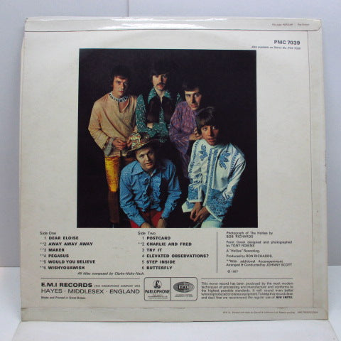 HOLLIES - Butterfly (UK Orig.Mono LP/CFS)