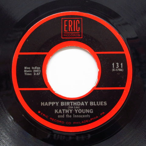 "KATHY YOUNG & THE INNOCENTS - A Thousand Stars (70's Re 7""/Eric-131)"