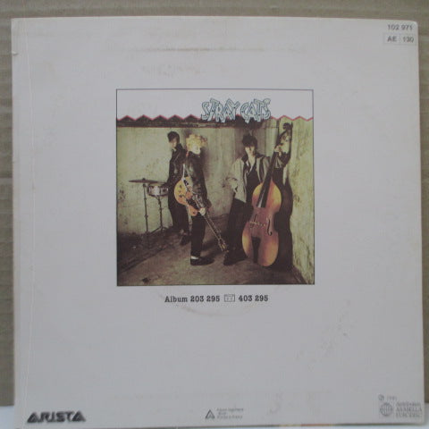 "STRAY CATS - Rock This Town (France Orig.7"")"