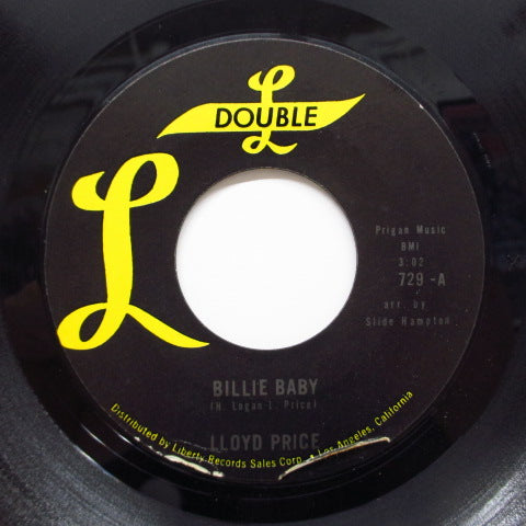 LLOYD PRICE - Billie Baby / Try A Little Bit Of Tenderness