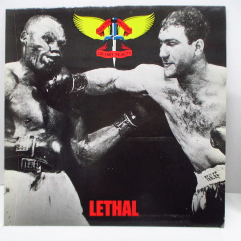 COCKNEY REJECTS - Lethal (UK Orig.LP)
