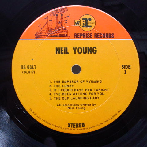NEIL YOUNG - Neil Young (1st) (US Orig.Stereo LP/GS)