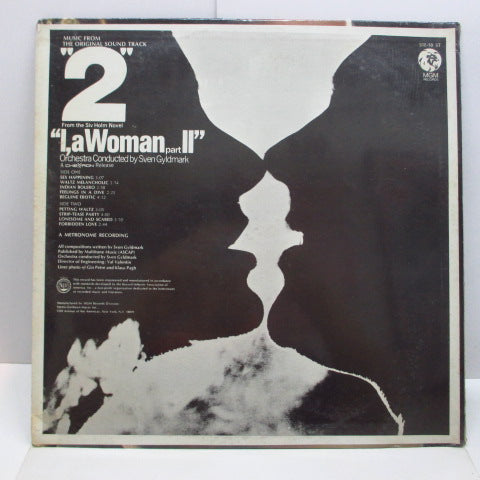 O.S.T. - 2 From The Siv Holm Novel / l.a Woman Part 2 (US Orig.Stereo LP)