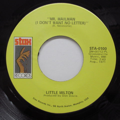 LITTLE MILTON - Mr.Mailman (US Orig)
