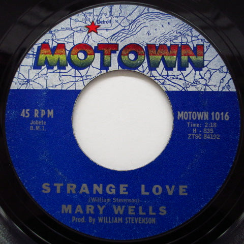 MARY WELLS - Come To Me / Strange Love (Orig)