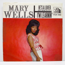"MARY WELLS - I'm Learnin' / He's A Lover (US Oorig.7""+PS)"