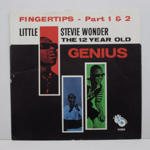 "STEVIE WONDER (LITTLE) (スティーヴィ・ワンダー)  - Fingertips (US Orig.7""+PS)"