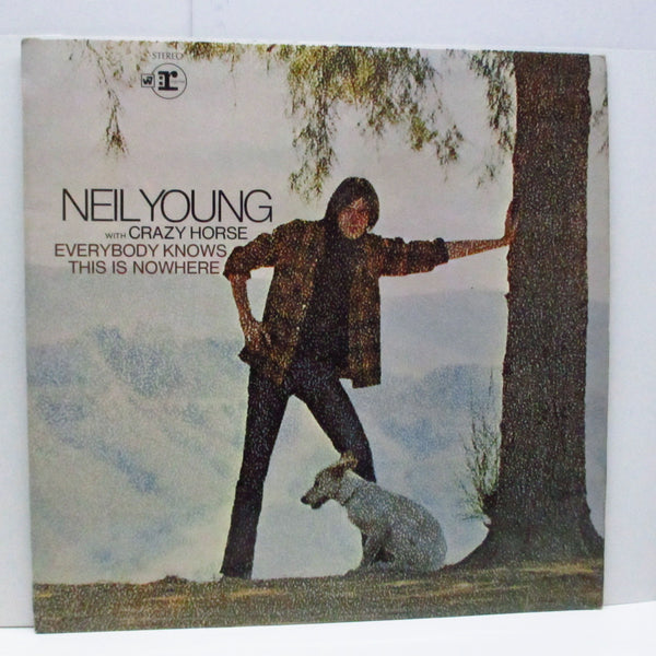 NEIL YOUNG - Everybody Knows This Is Nowhere (UK '70 Re No W Logo Lbl.LP+CFS/RSLP 6349)