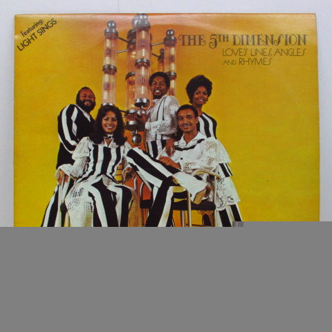 5TH DIMENSION - Love's Lines, Angles And Rhymes (UK Orig.LP/Texture FS)