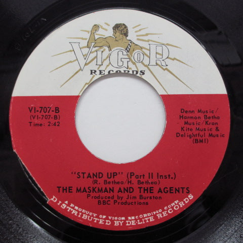 MASKMAN & THE AGENTS - Stand Up (Part 1 & 2) (US Vigor Orig)