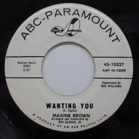 MAXINE BROWN - Wanting You (US Promo)