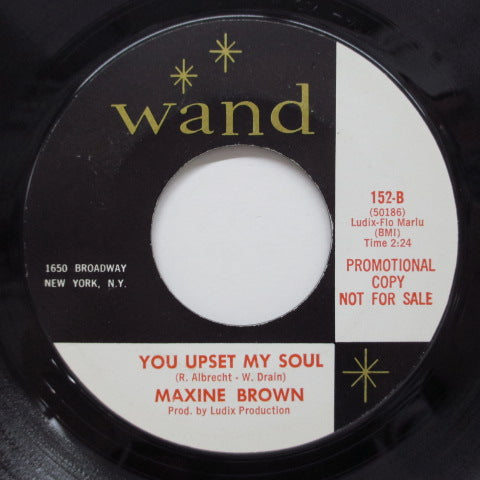 MAXINE BROWN - Little Girl Lost (US Promo)