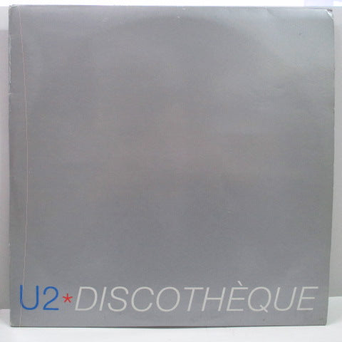 "U2 - Discotheque (UK Promo.3x12"")"