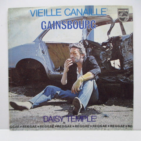 "SERGE GAINSBOURG - Vieille Canaille (France Orig.7""+PS)"