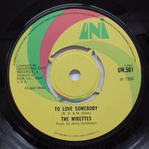 MIRETTES - In The Midnight Hour (UK Orig)