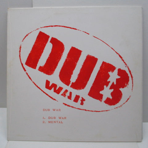 COWBOY KILLERS / DUB WAR (カウボーイ・キラーズ / ダブ・ウォー)  - Split (UK Lted 1-Sided LP/Stamped CVR)