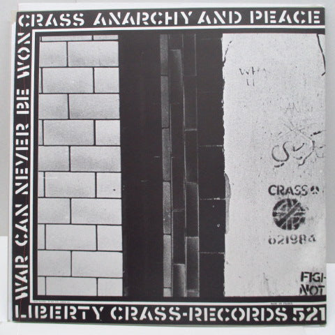 CRASS - Stations Of The Crass (UK Reissue 2 x LP/£4 CVR)