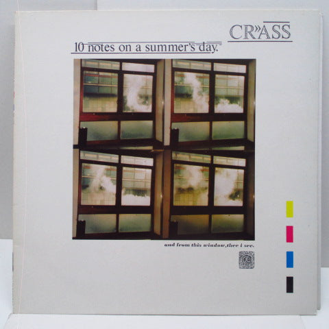 "CRASS - 10 Notes On A Summer's Day (UK Orig.12"")"