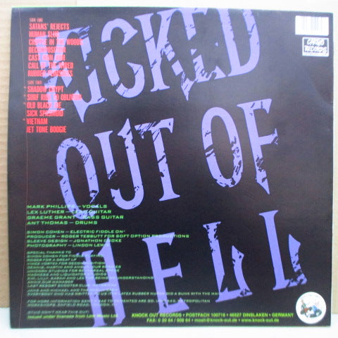 DEMENTED ARE GO - Kicked Out Of Hell (German Reissue.LP)