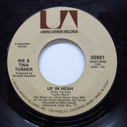IKE & TINA TURNER - Up In Heah (Orig)