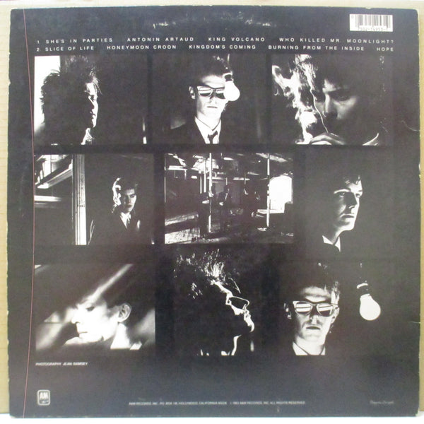 BAUHAUS - Burning From The Inside (US Orig.LP)