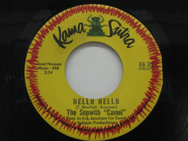 SOPWITH CAMEL - Hello Hello / Treadin'