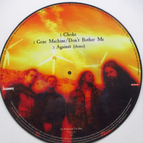 "SEPULTURA - Choke (Dutch Promo Only Picture 12"")"