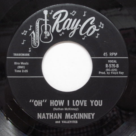 "NATHAN McKINNEY & VALLEYITES - ""Oh"" How I Love You (Orig)"