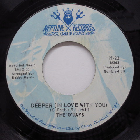 O'JAYS - Deeper (In Love With You) (2nd Press)