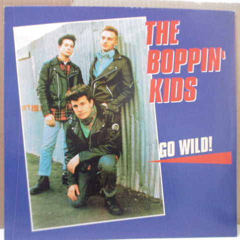 BOPPIN' KIDS, THE - Go Wild (German RE Black Vinyl LP)