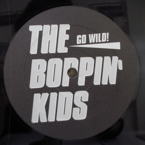 BOPPIN KIDS, THE - Go Wild (German RE Black Vinyl LP)