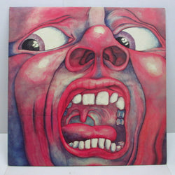 KING CRIMSON - In The Court Of The Crimson King (UK:'72 4th Press #1)