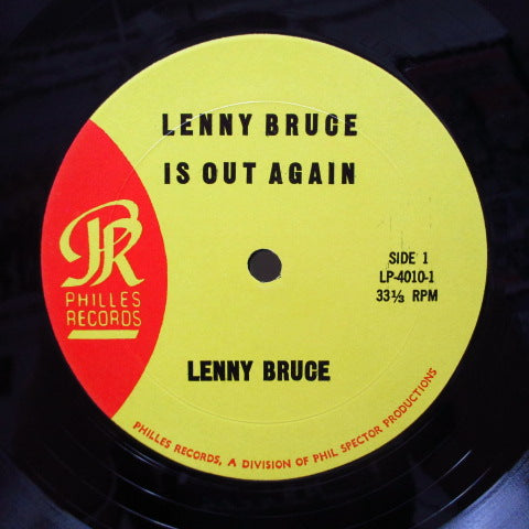 LENNY BRUCE - Lenny Bruce Is Out Again (US Orig.Mono)