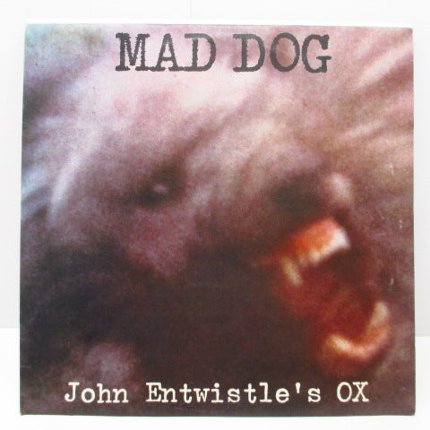 JOHN ENTWISTLE - Mad Dog (UK Orig.LP+Poster)