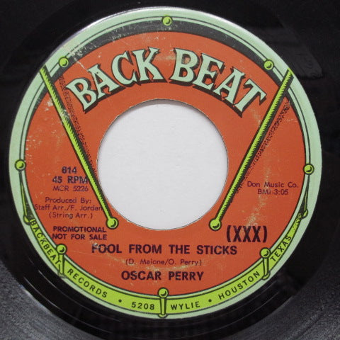 OSCAR PERRY - Fool From The Sticks (US Promo)