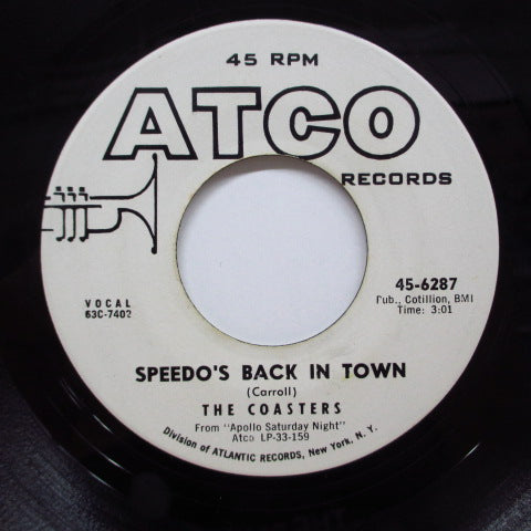 COASTERS - Speedo's Back In Town