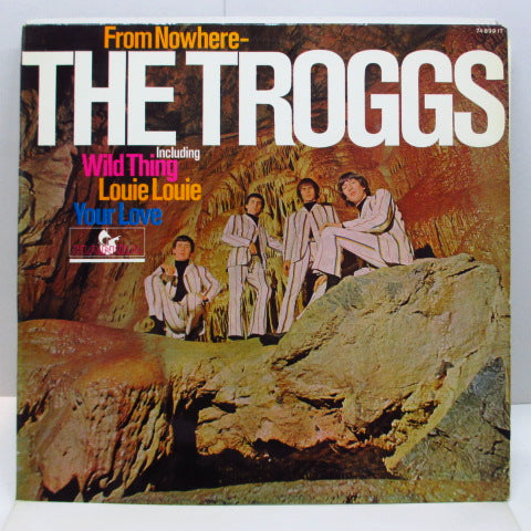 TROGGS - From Nowhere (German Orig.Stereo LP/両面CS)
