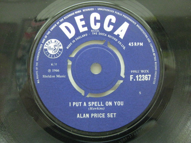 ALAN PRICE SET - I Put A Spell On You (UK Orig.Round Center)