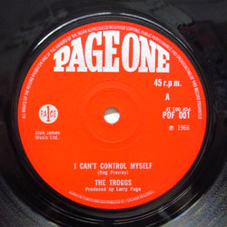 TROGGS - I Can't Control Myself (UK Orig.Flat Center)