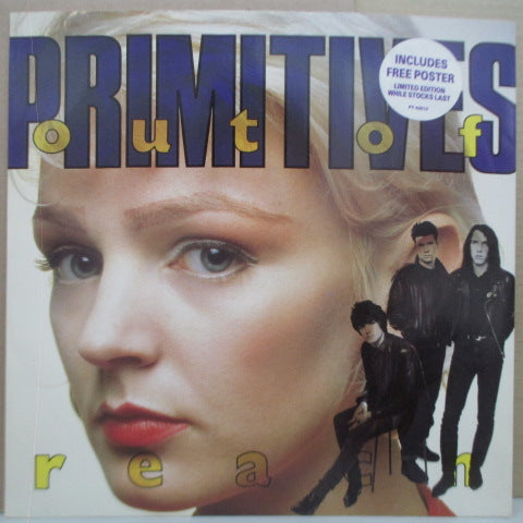 "PRIMITIVES, THE - Out Of Reach +3 (UK Ltd.12""+Poster)"